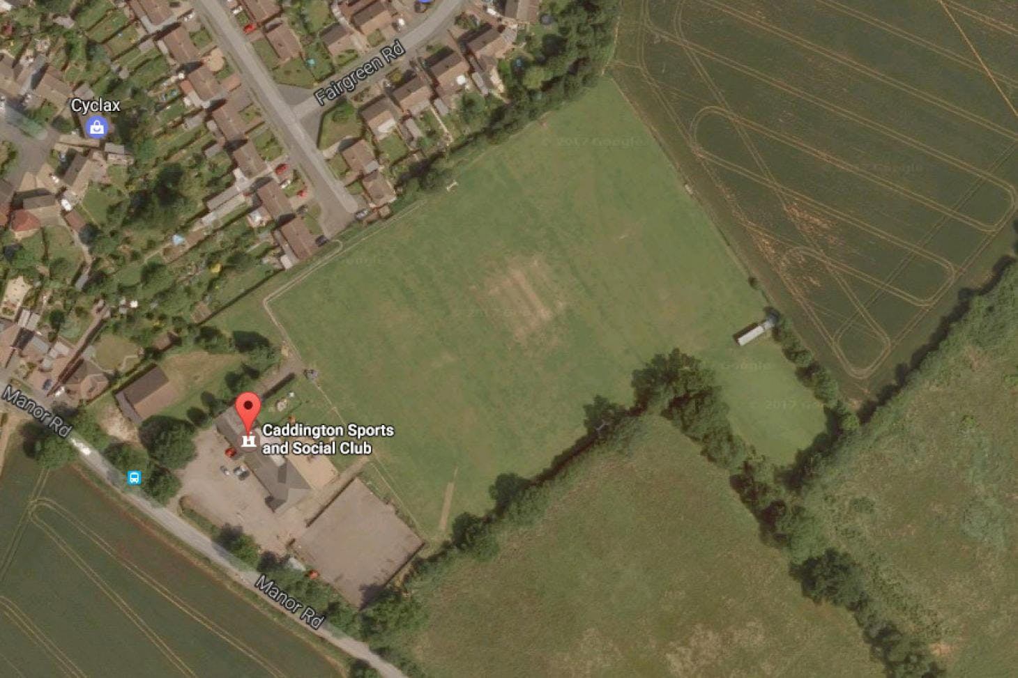 Caddington Sports and Social Club 11 a side | Grass football pitch