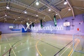 Virgo Fidelis Convent Senior School   Indoor Netball Court