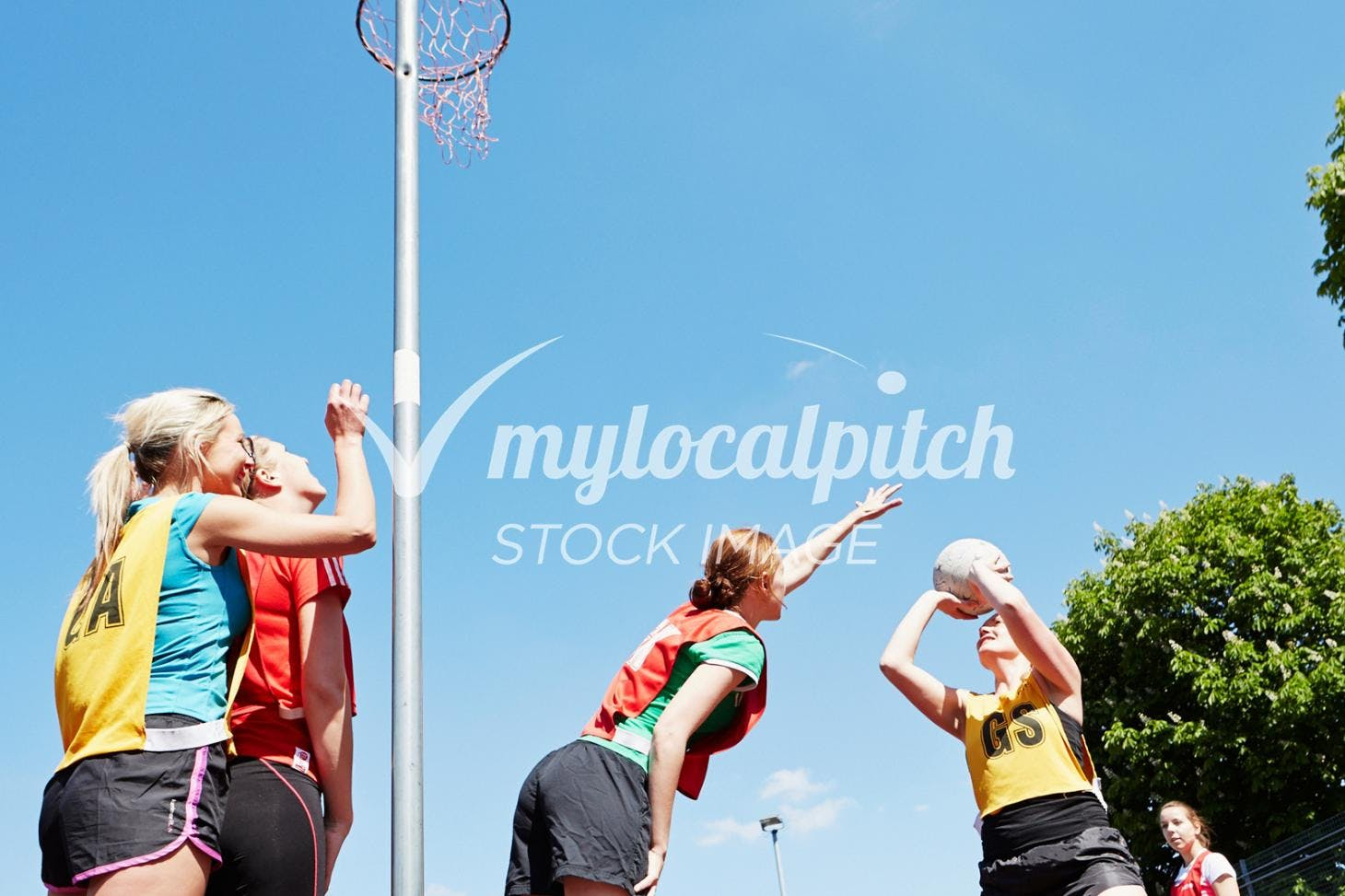 Lea Valley High School Outdoor | Hard (macadam) netball court