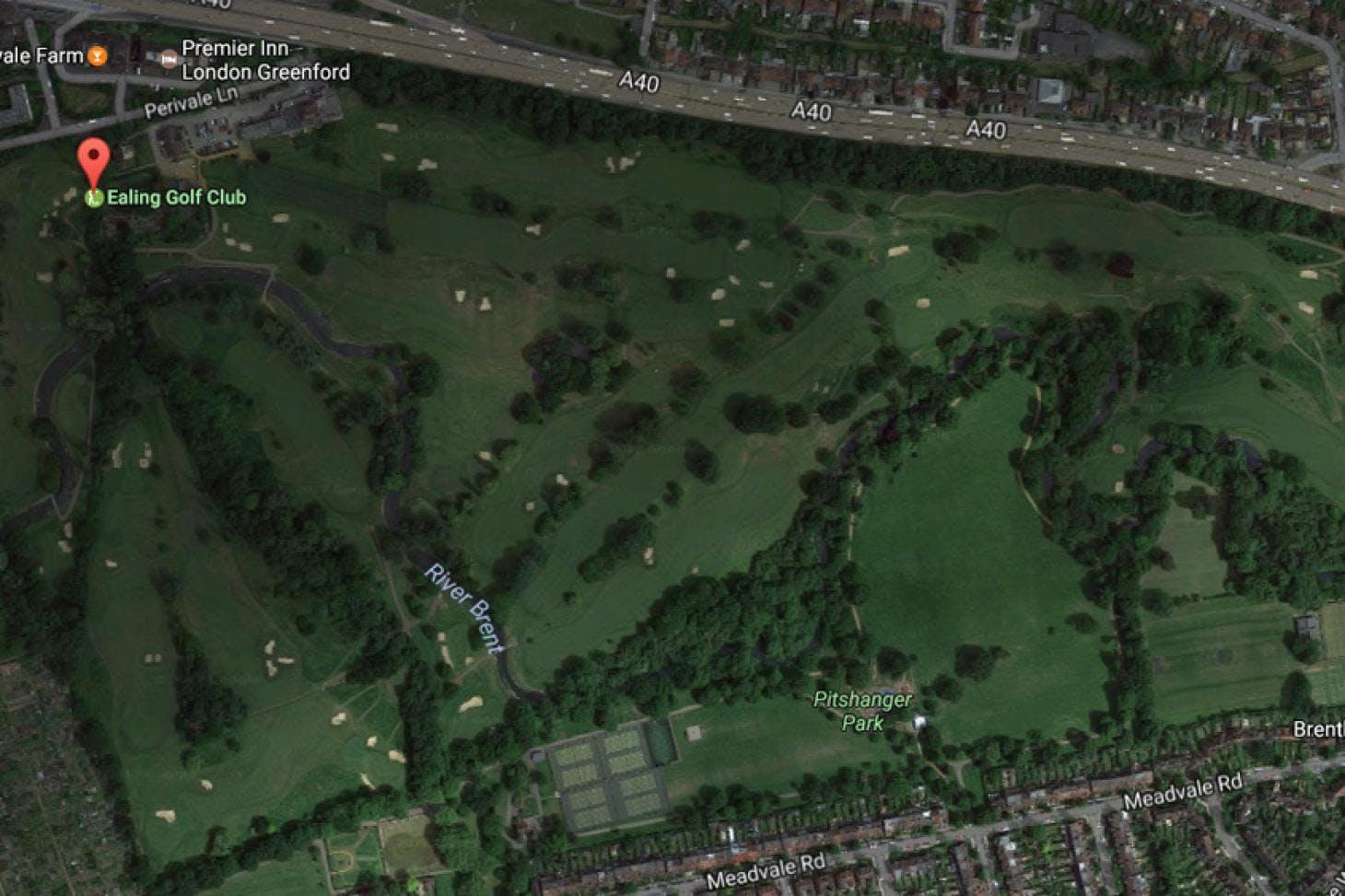 Ealing Golf Course 18 hole golf course