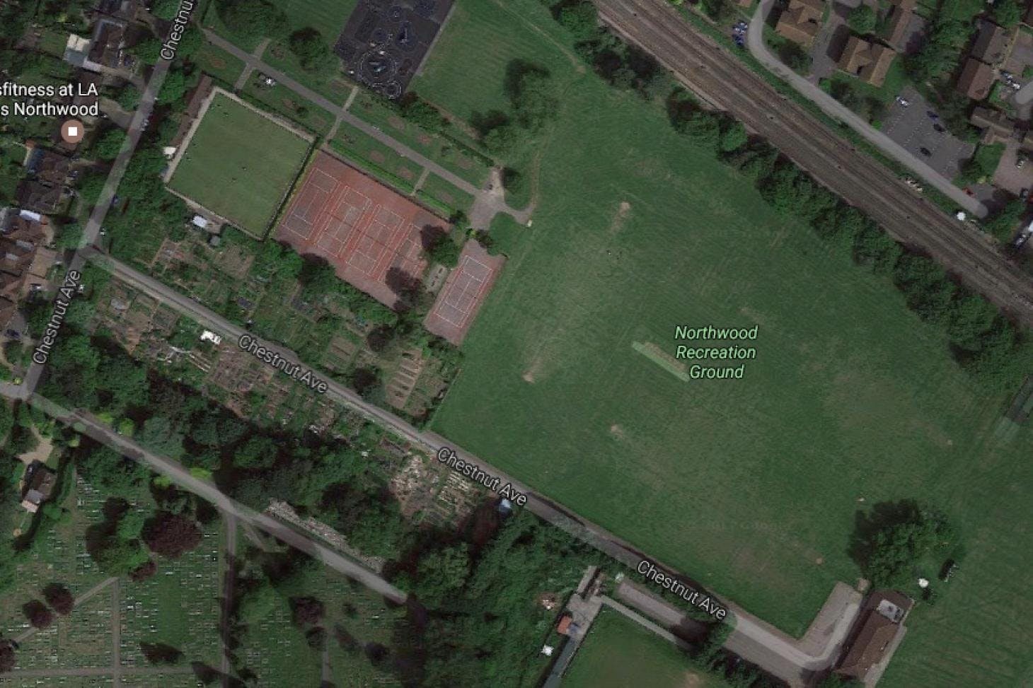 Northwood Recreation Ground 11 a side   Grass football pitch