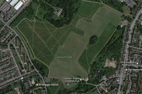 Hanworth Park | Grass Football Pitch