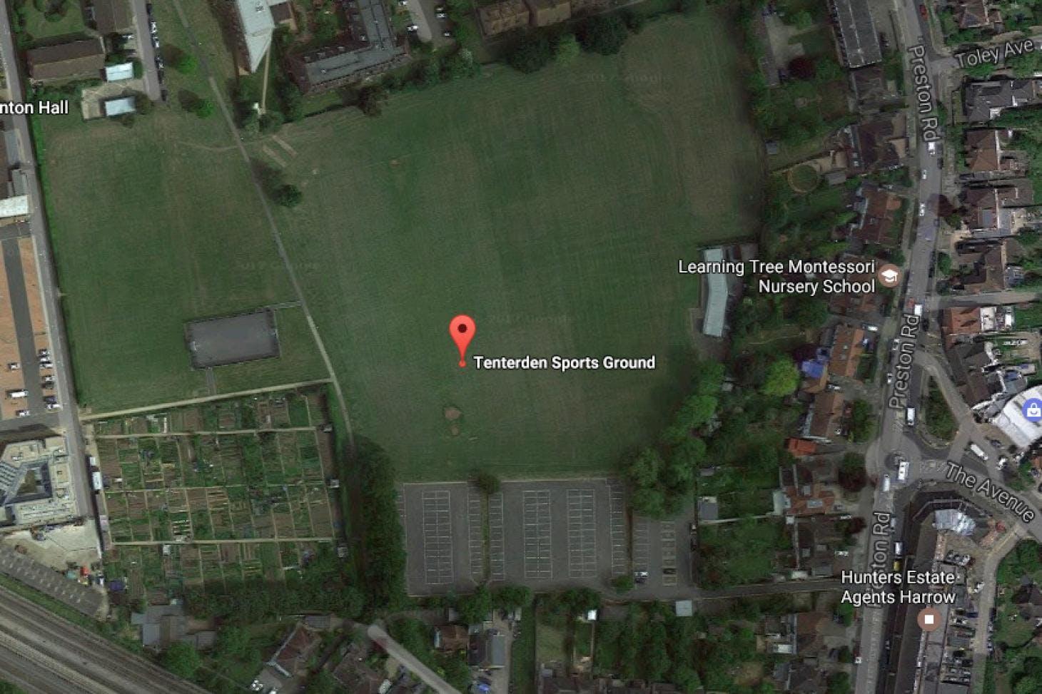Tenterden Sports Ground 11 a side | Grass football pitch