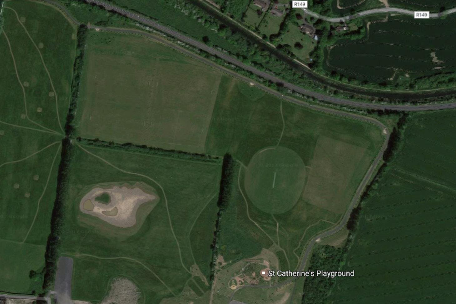 St Catherines Park Full size   Grass gaa pitch
