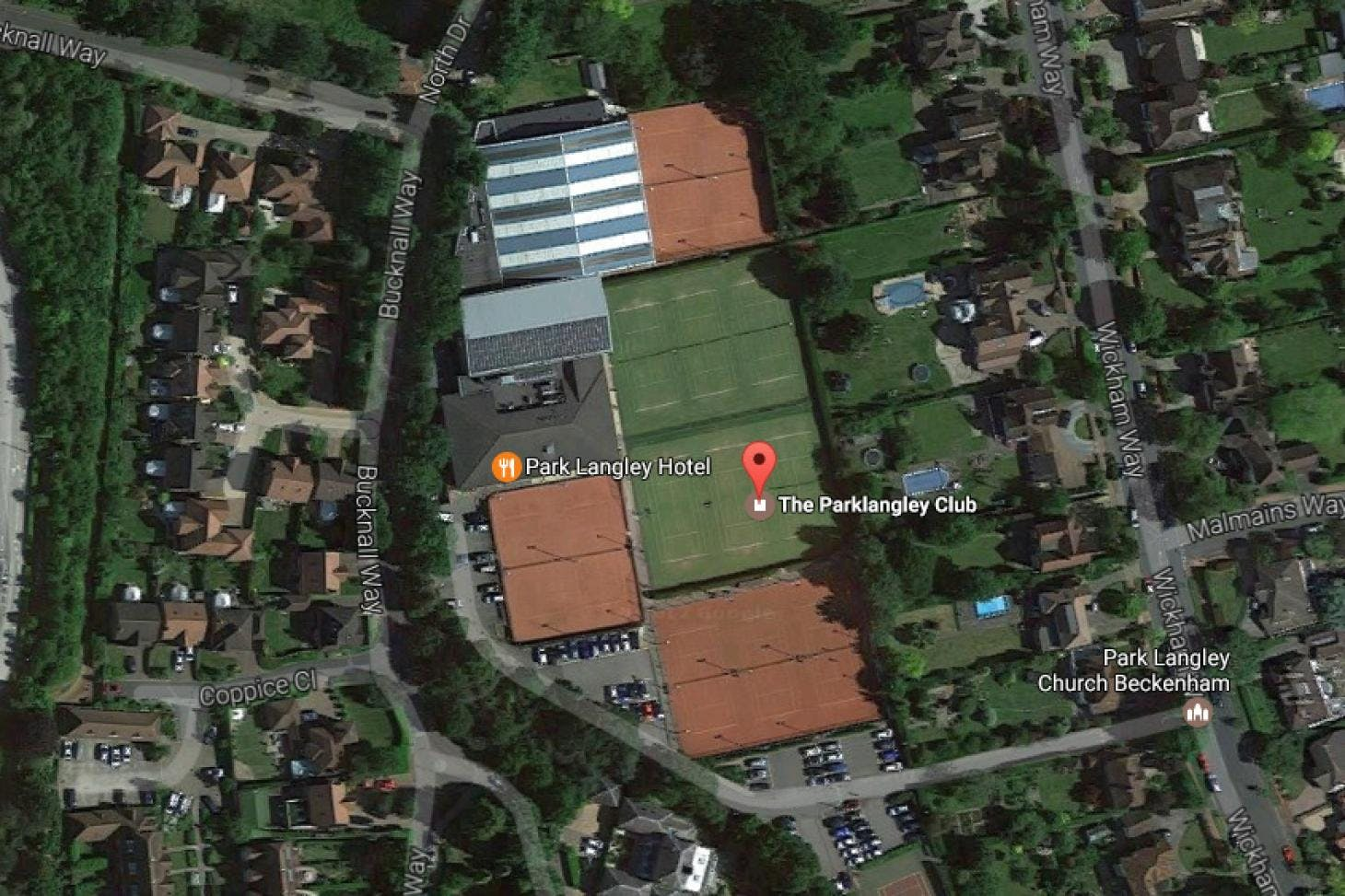 Parklangley Tennis Club Outdoor | Clay tennis court