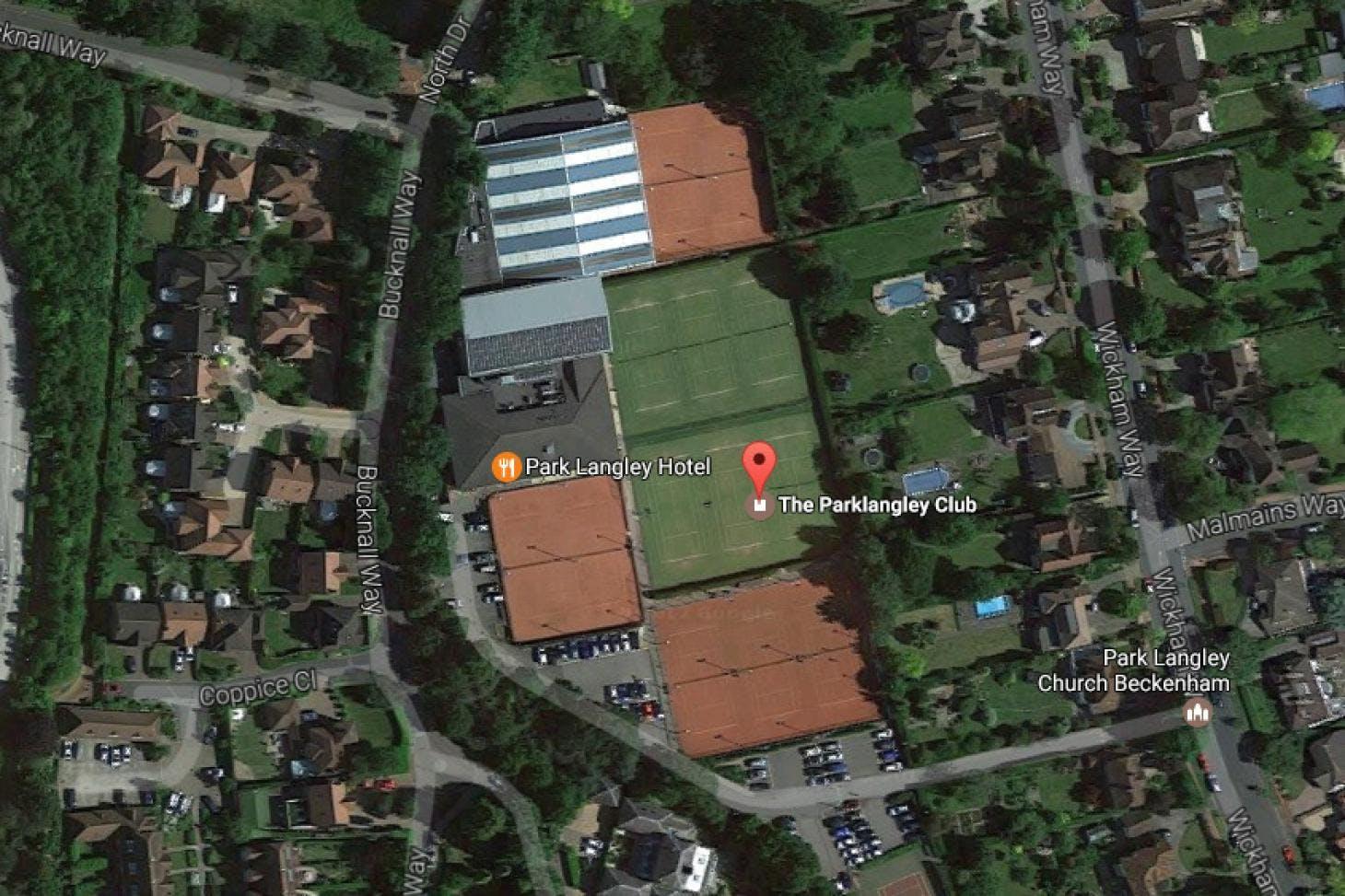 Parklangley Tennis Club Outdoor   Grass tennis court