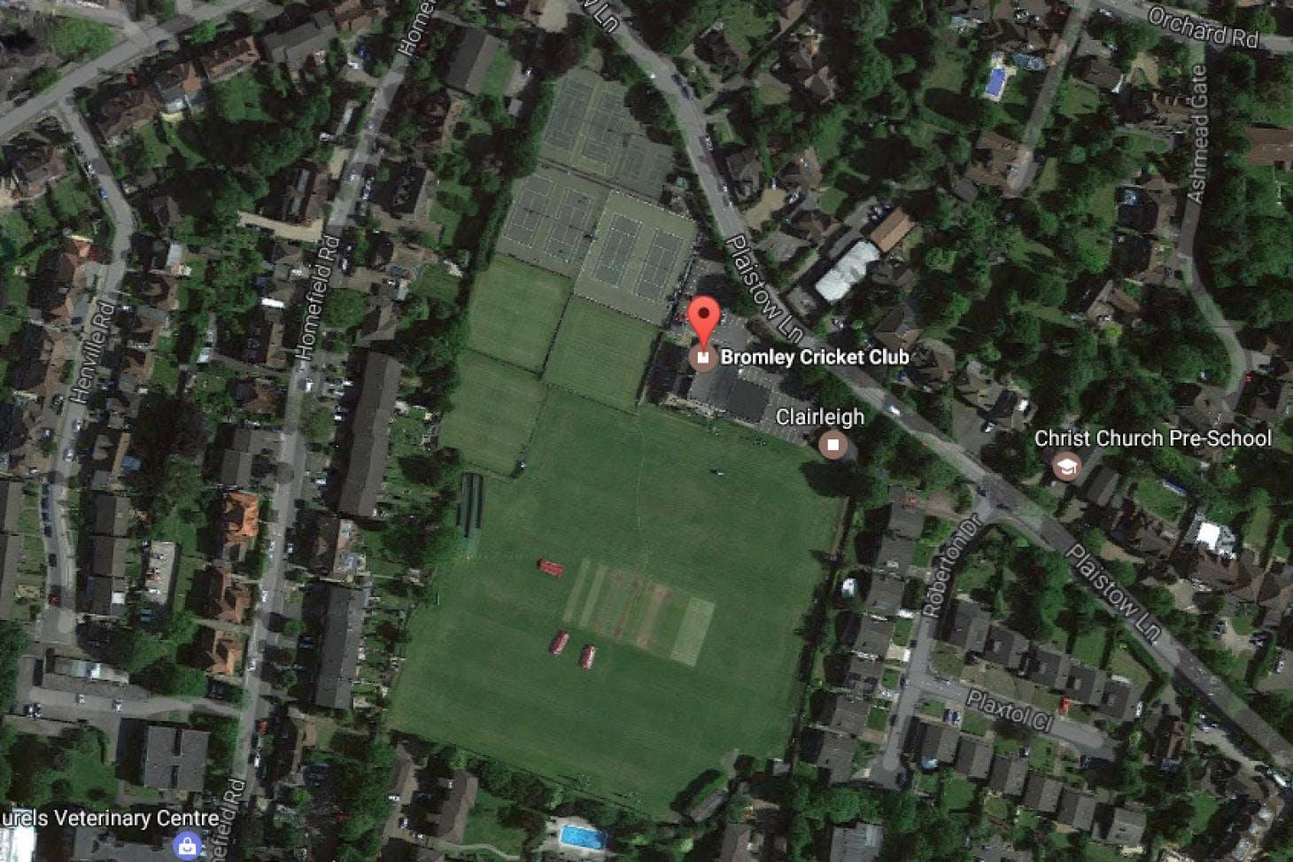 Bromley Cricket Club Outdoor | Grass tennis court