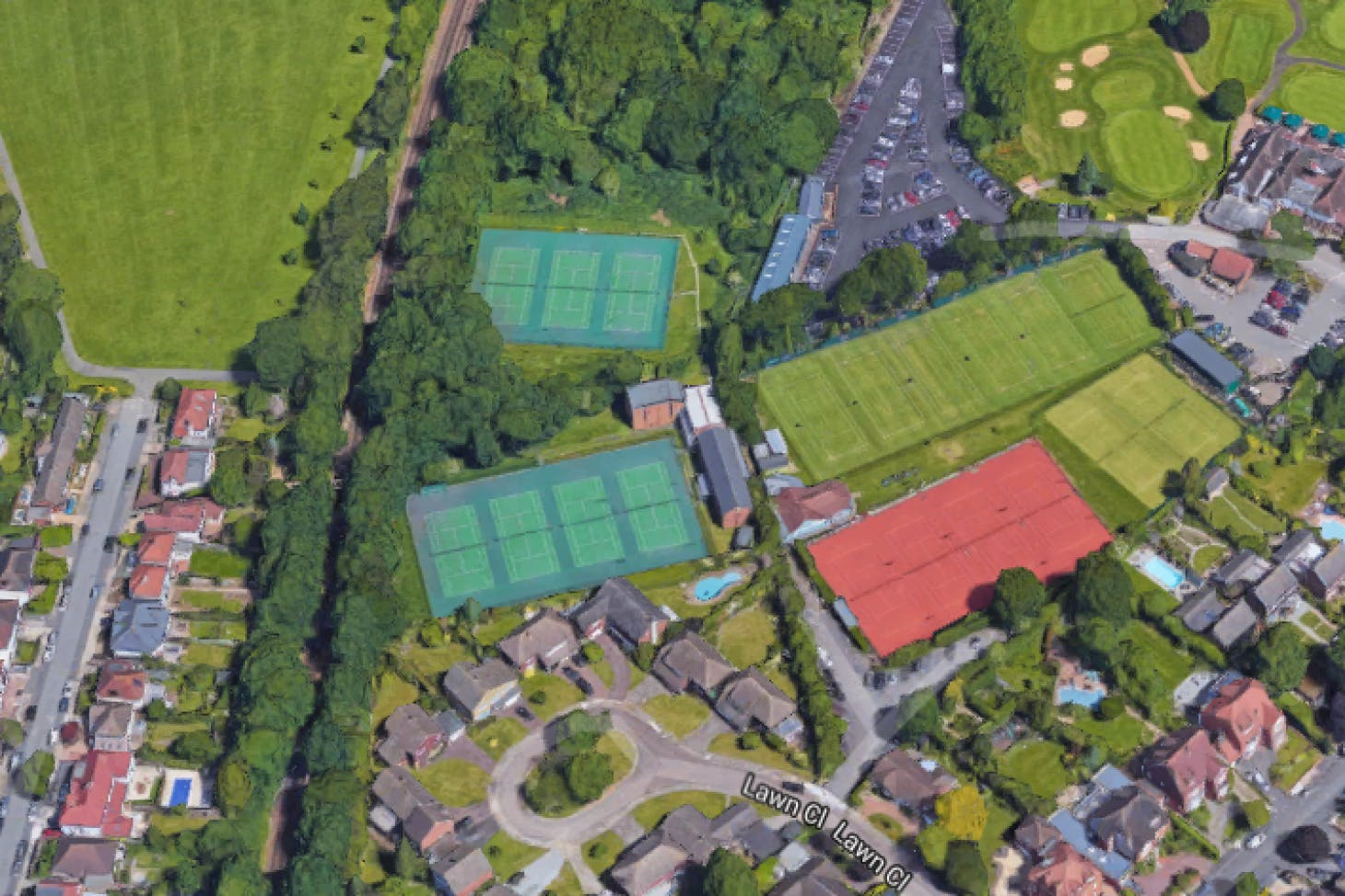 Sundridge Park Lawn Tennis & Squash Rackets Club Outdoor | Grass tennis court
