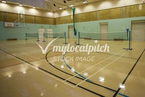 Edmonton Leisure Centre | Hard Badminton Court