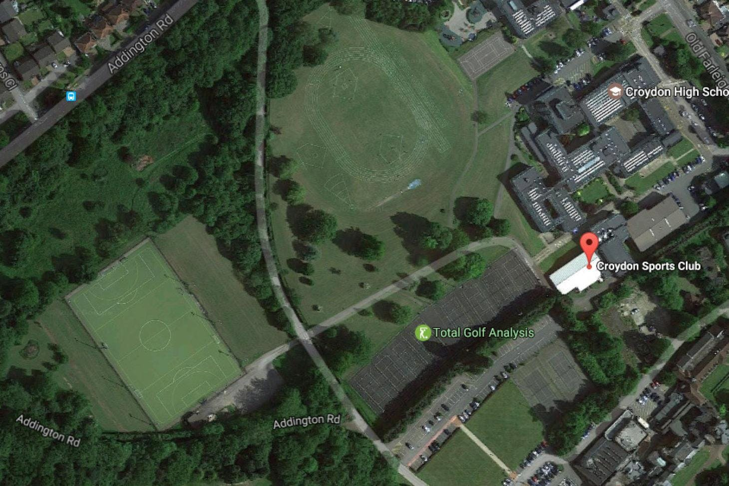 Croydon Sports Club Union | Astroturf rugby pitch