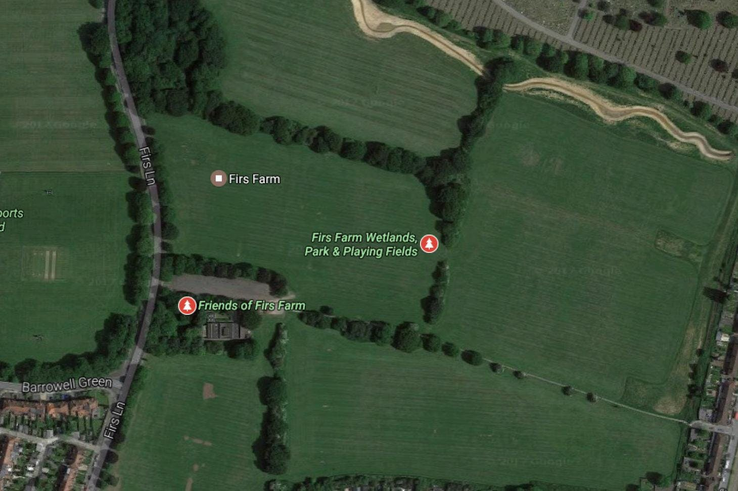 Firs Farm Union | Grass rugby pitch
