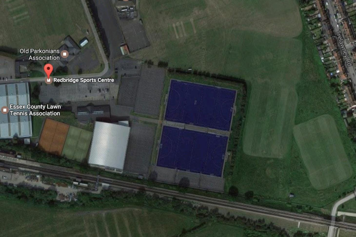 Redbridge Sports Centre Outdoor | Astroturf tennis court