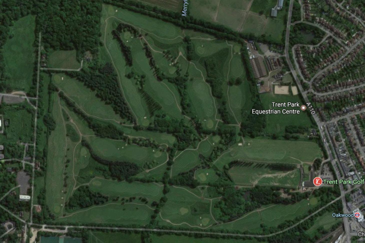 Trent Park Public Golf Centre 18 hole golf course