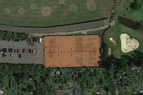 Dukes Meadows Golf and Fitness | Hard (macadam) Tennis Court