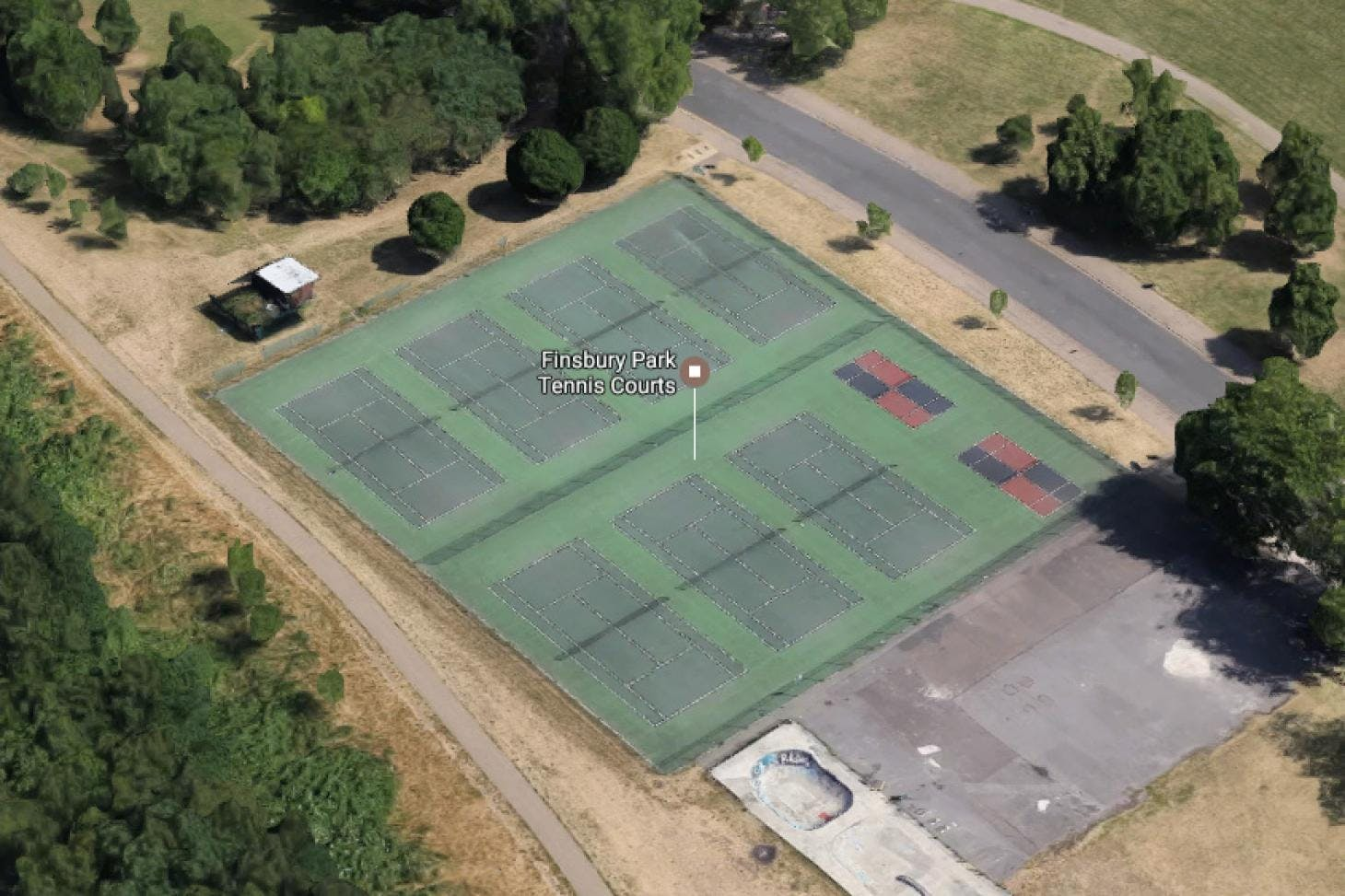 Finsbury Park Outdoor | Hard (macadam) tennis court