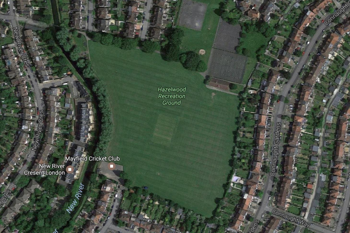 Hazelwood Recreation Ground Full size | Grass cricket facilities