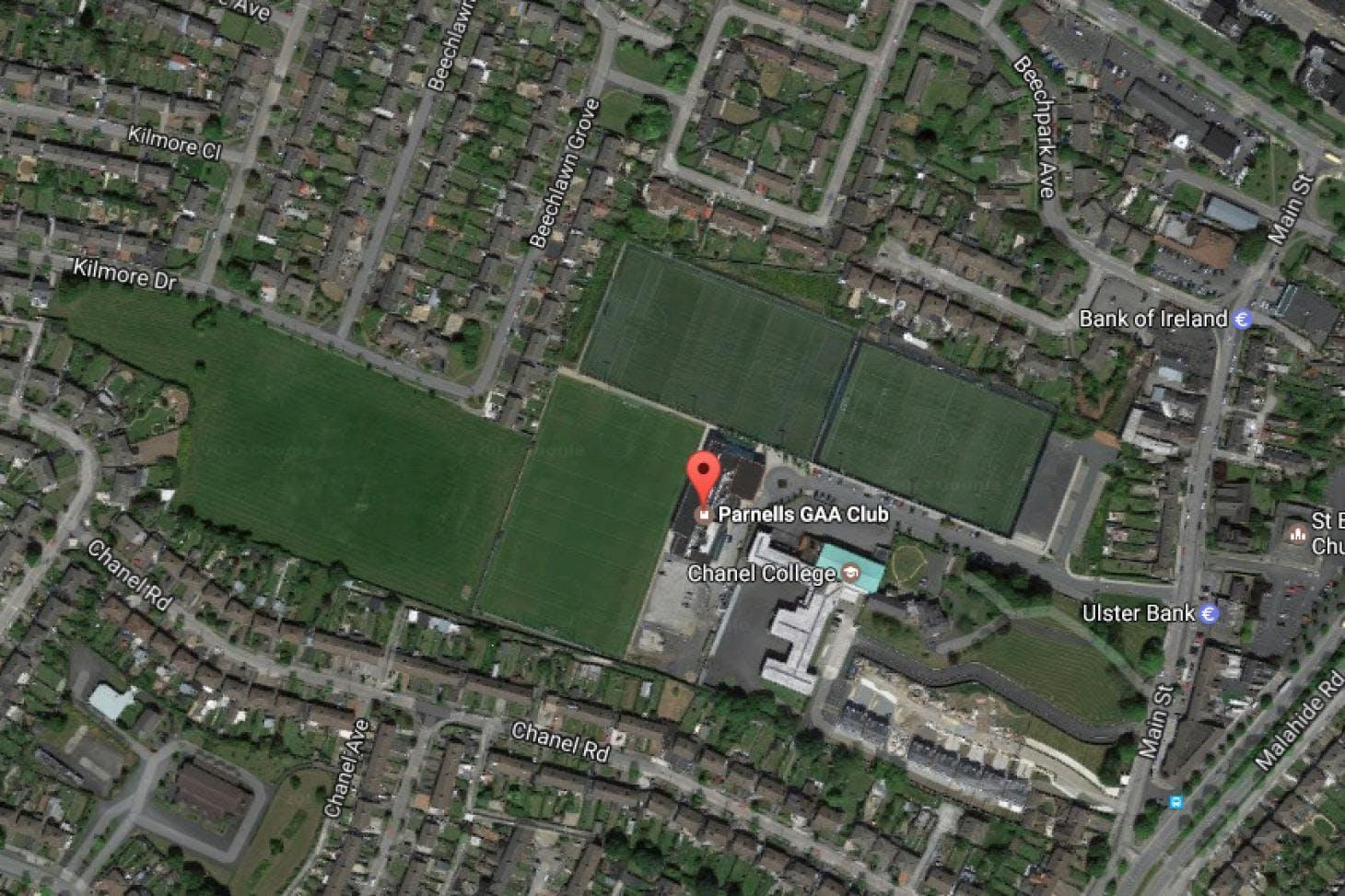 Parnell's GAA 5 a side | Astroturf football pitch