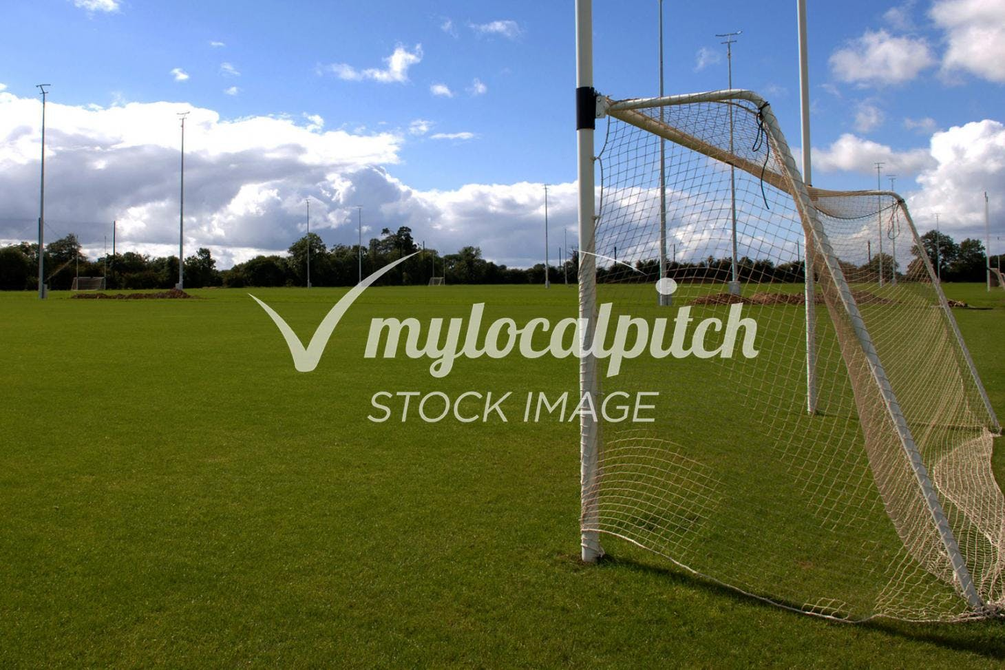Donaghmede Park Full size | Grass gaa pitch