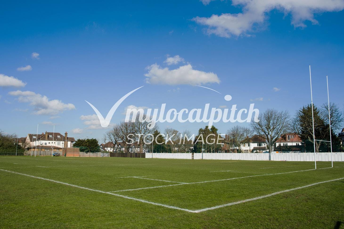 Desborough College Union | Grass rugby pitch