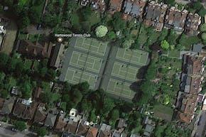 Hartswood Tennis Club | Hard (macadam) Tennis Court