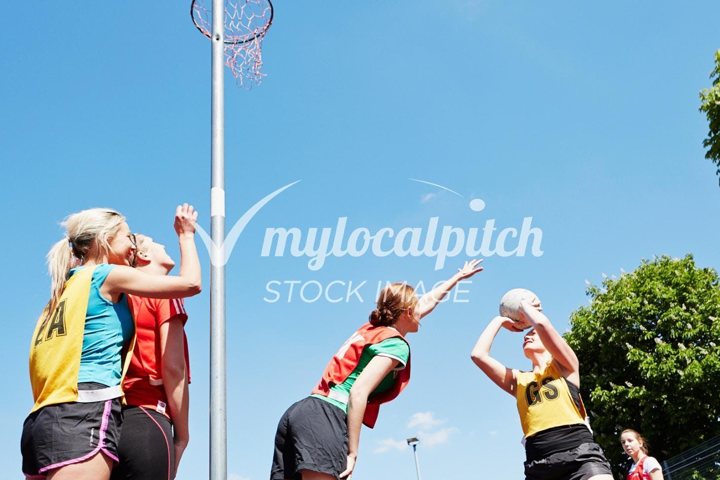 Farley Junior School Outdoor | Concrete netball court