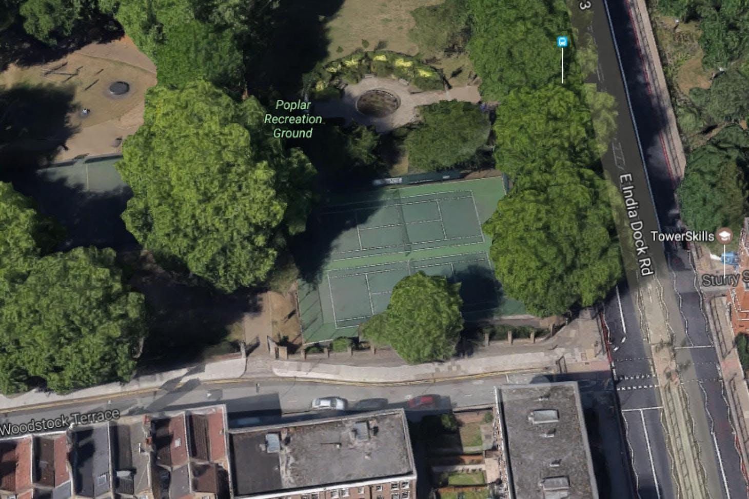 Poplar Recreation Ground Outdoor | Hard (macadam) tennis court