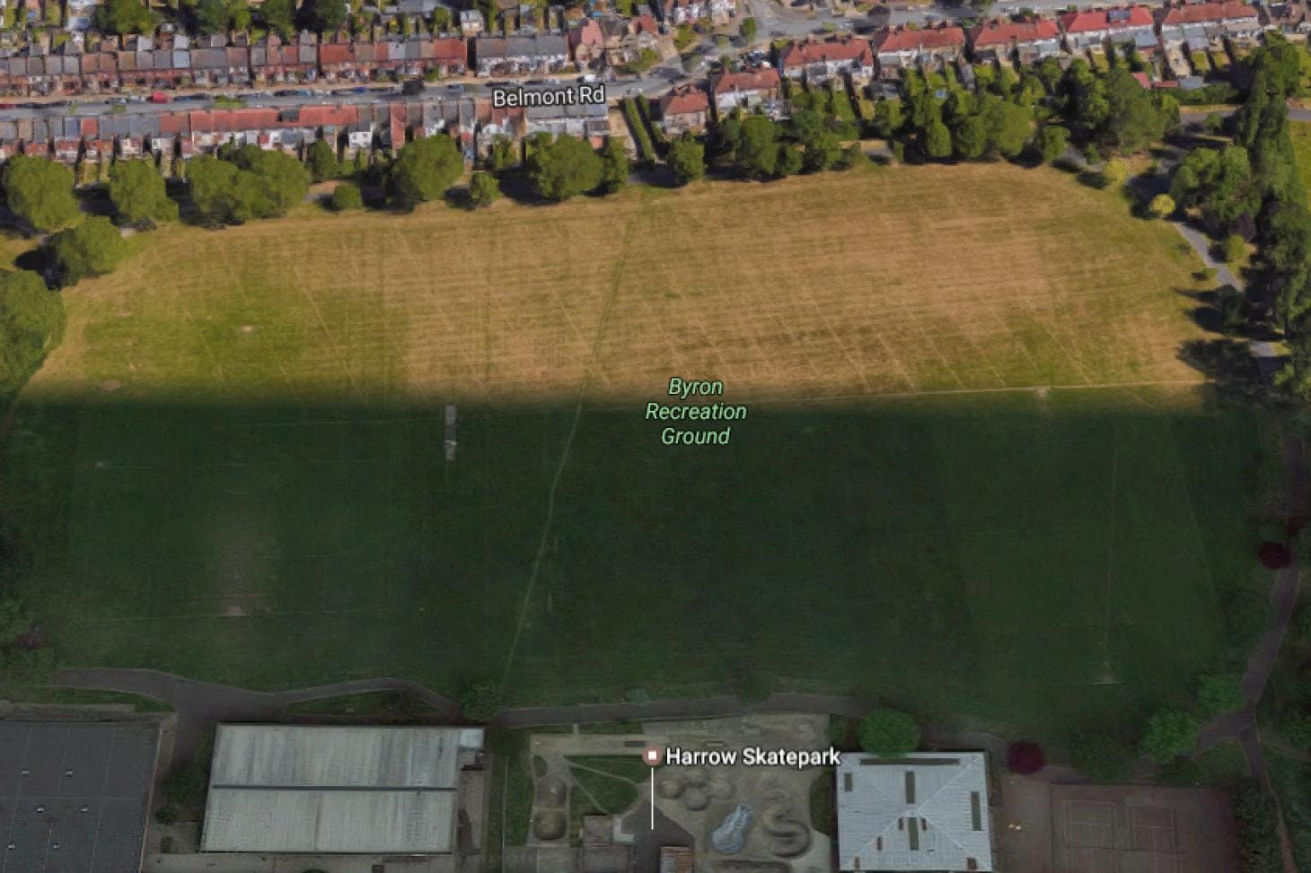 Byron Recreation Ground 11 a side | Grass football pitch