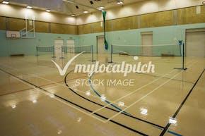 Bishop Justus C of E School | Hard Badminton Court