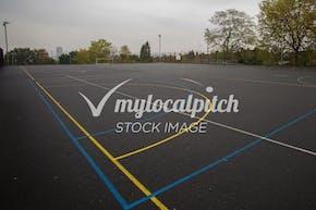 Gladstone Park | Concrete Netball Court