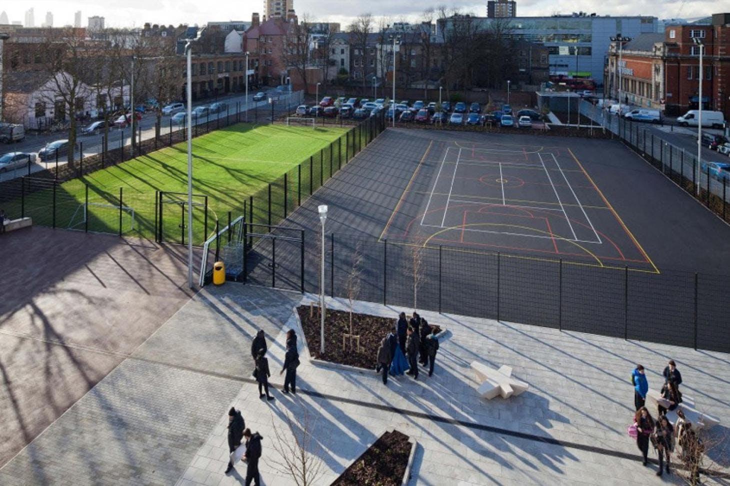 Urswick School 5 a side | 3G Astroturf football pitch