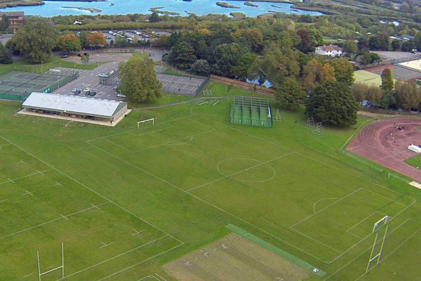 Barn Elms Sports Trust 5 a side   Grass football pitch