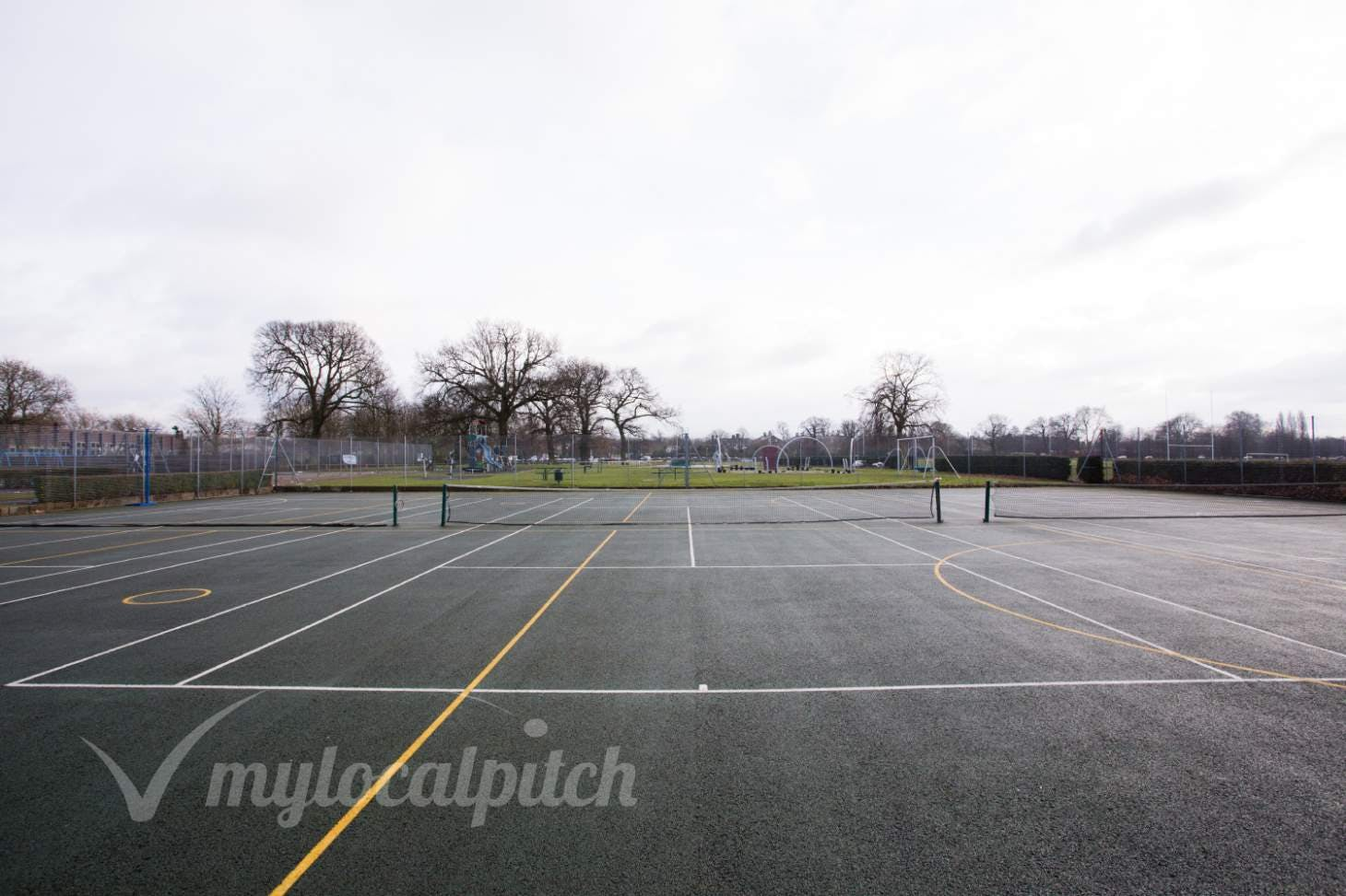 King George's Field Outdoor | Hard (macadam) netball court