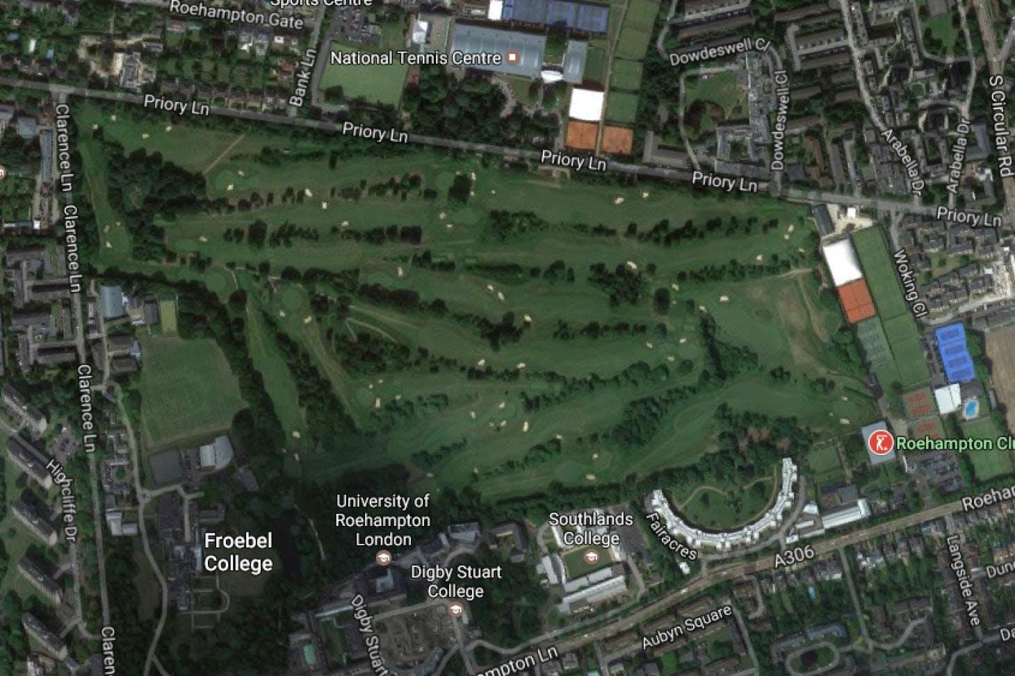 Roehampton Club 18 hole golf course