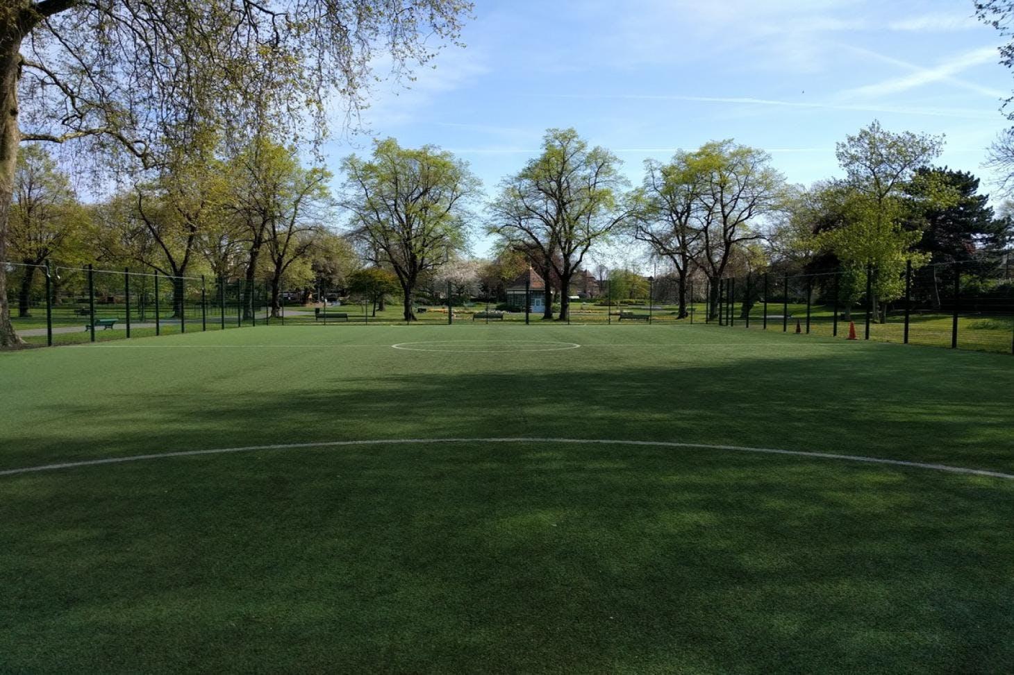 Myatts Fields Park 7 a side | 3G Astroturf football pitch