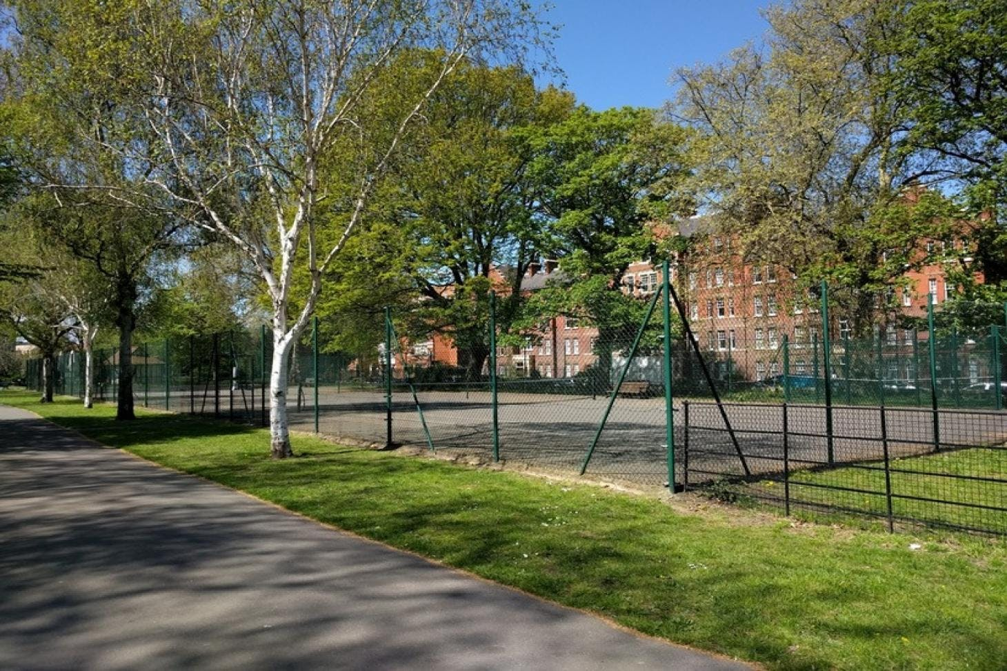 Myatts Fields Park Outdoor | Hard (macadam) tennis court