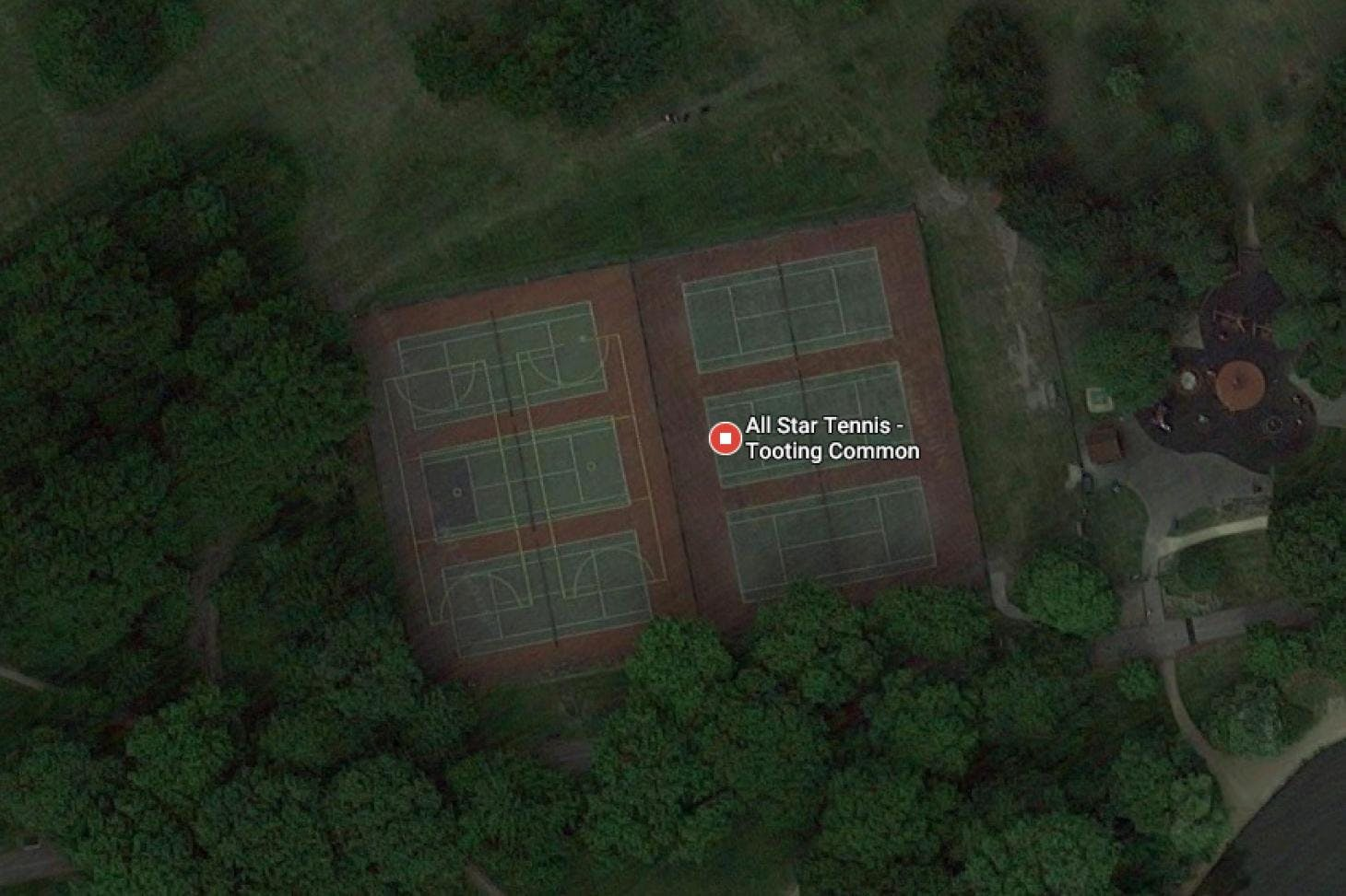 Tooting Common Outdoor | Hard (macadam) tennis court