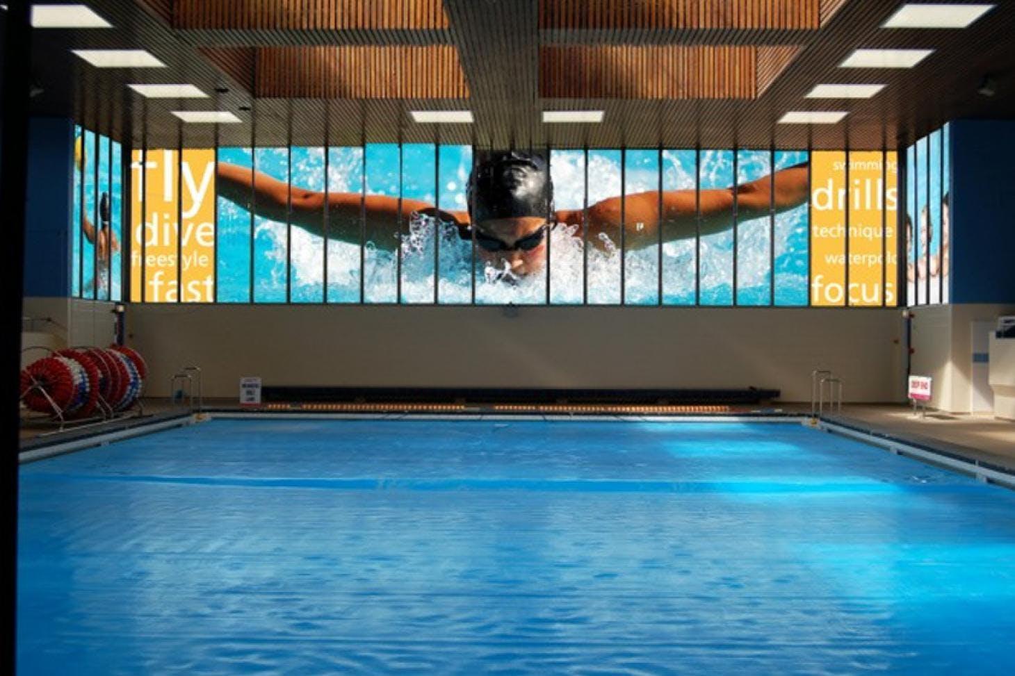 Broughton Leisure Centre Indoor swimming pool
