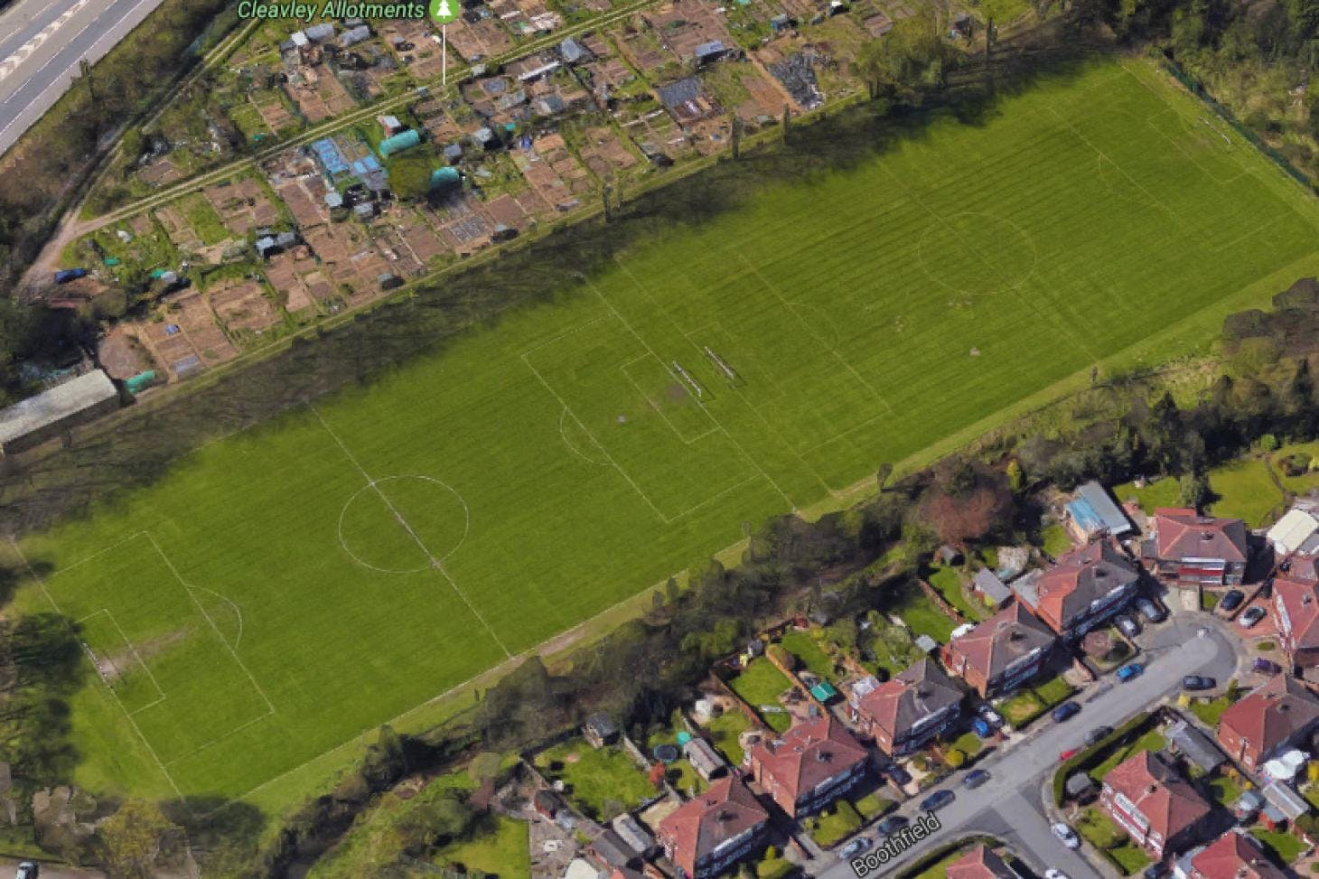 Cleavley Track 11 a side | Grass football pitch