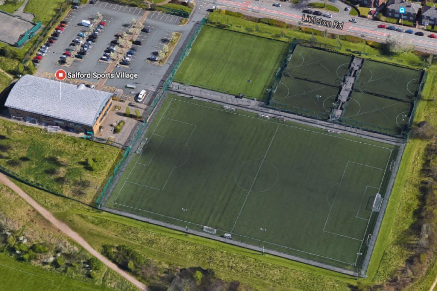 Salford Sports Village 7 a side | Grass football pitch