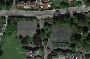 Rathdown School Campus | Hard (macadam) Tennis Court