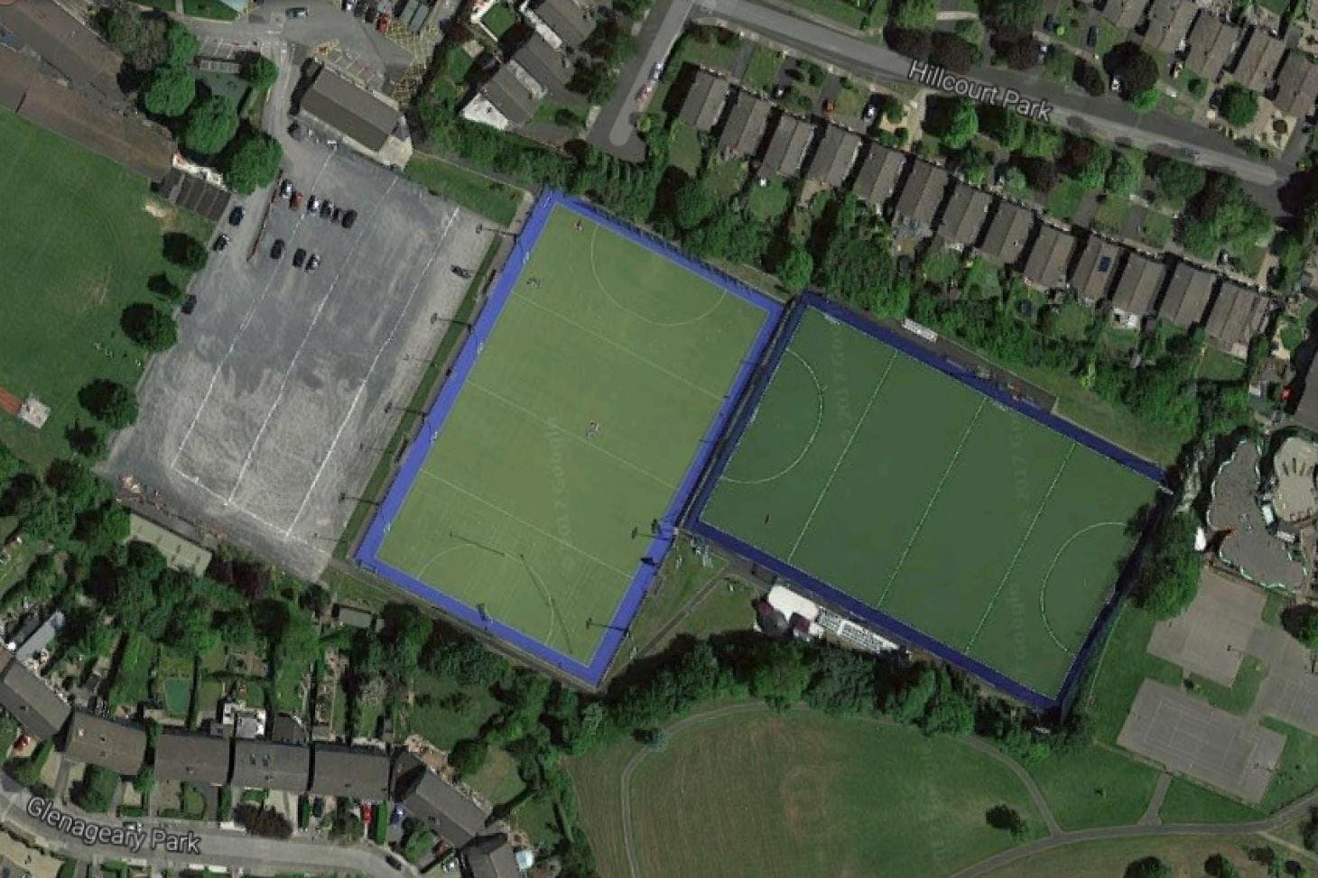 Rathdown School Campus Union | Astroturf rugby pitch