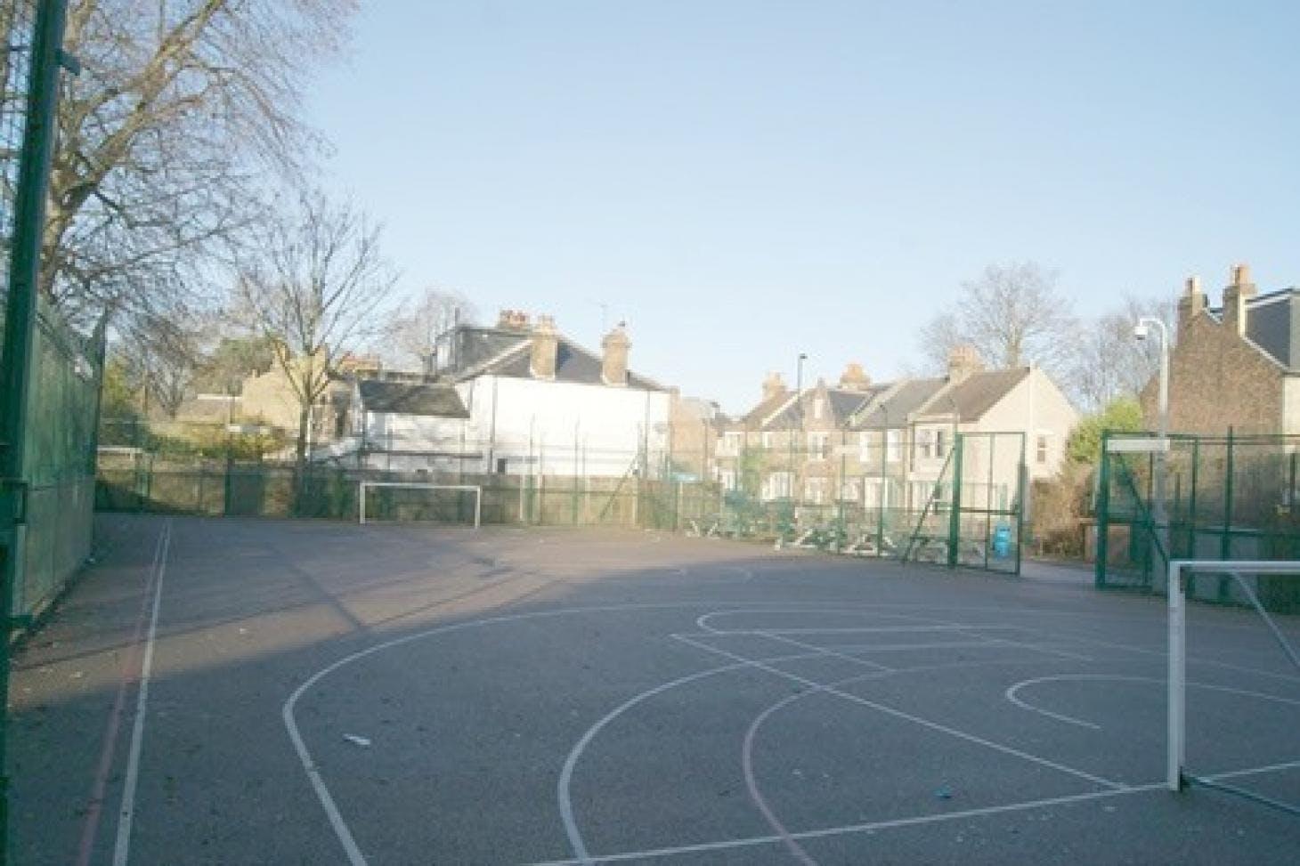 Trinity Secondary School, Lewisham 5 a side | Concrete football pitch