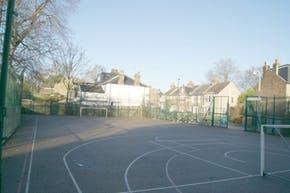 Trinity Secondary School, Lewisham | Concrete Football Pitch