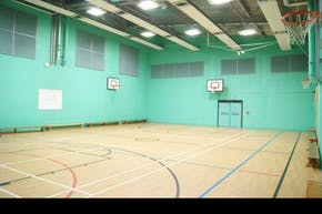 Trinity Secondary School, Lewisham | Hard Badminton Court