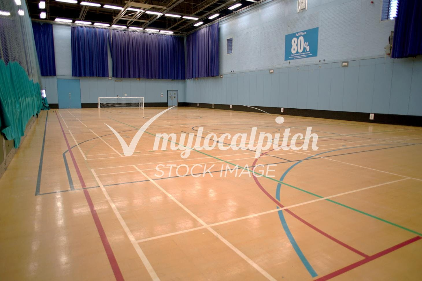 University of Salford Sports Centre 5 a side | Indoor football pitch