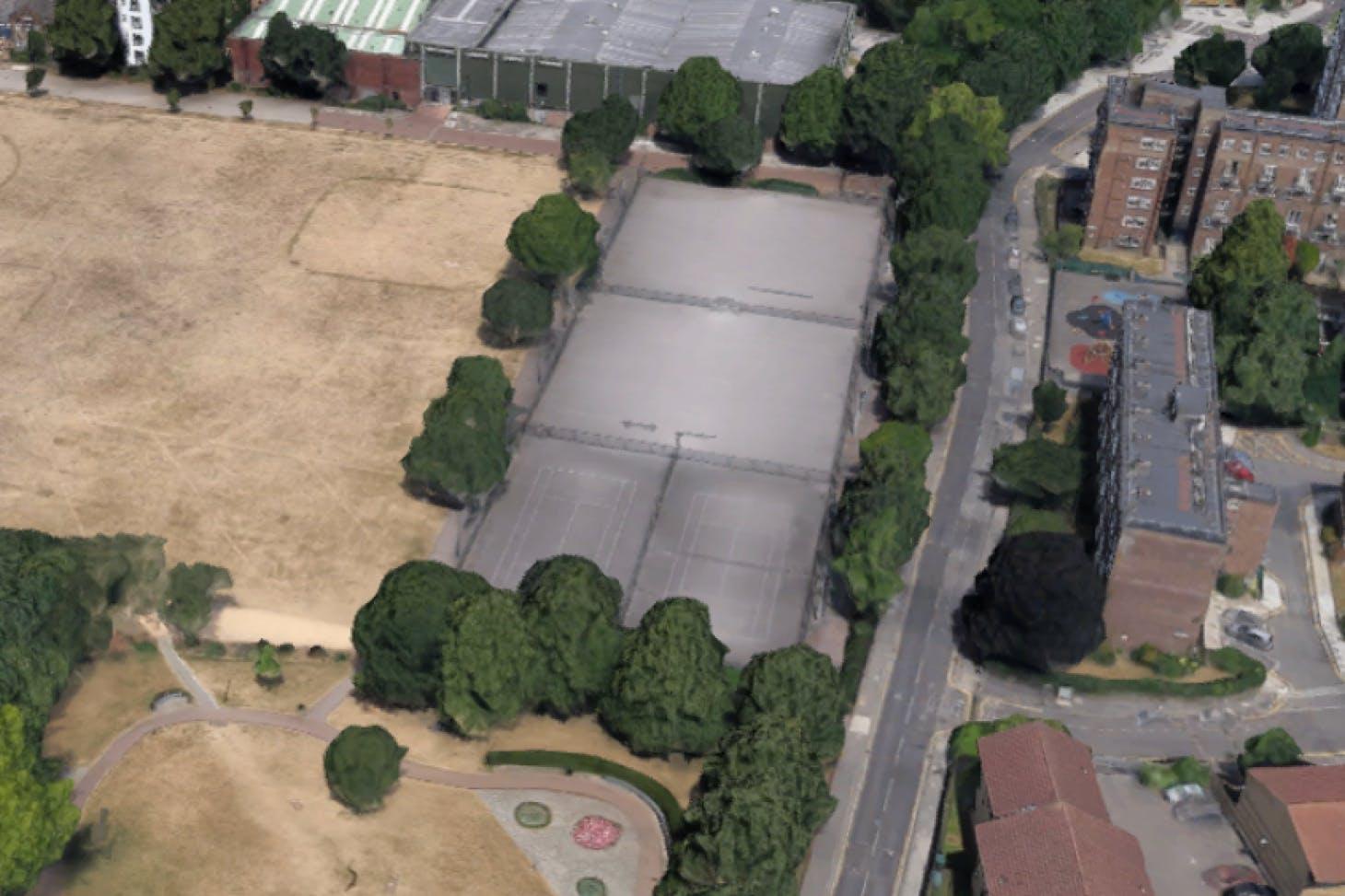 Shoreditch Park Outdoor | Hard (macadam) tennis court