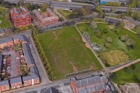 Hulme Park | Grass Football Pitch