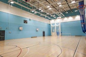 Droylsden Academy | Hard Badminton Court