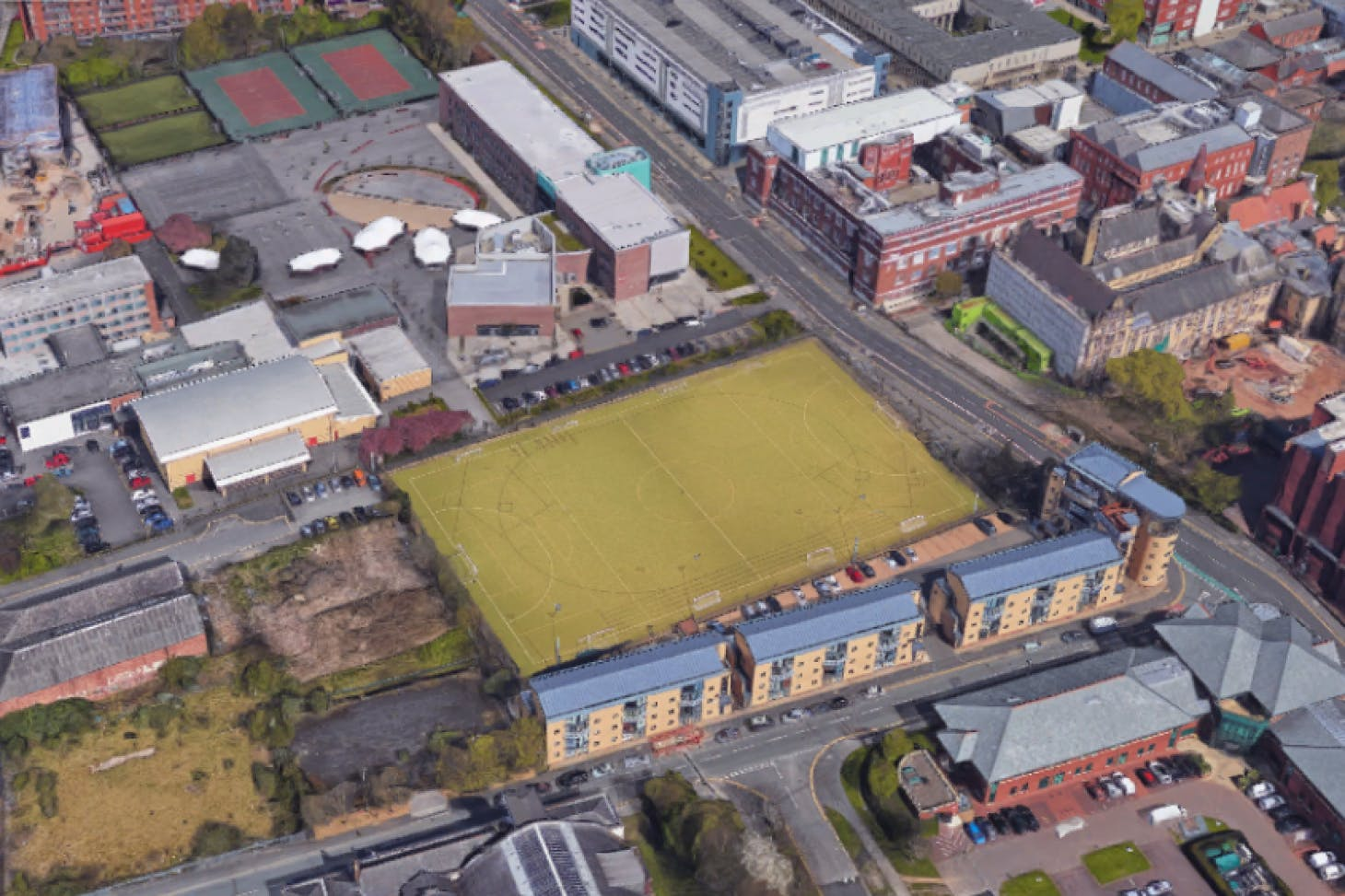 Trinity Sports Centre 11 a side | Astroturf football pitch