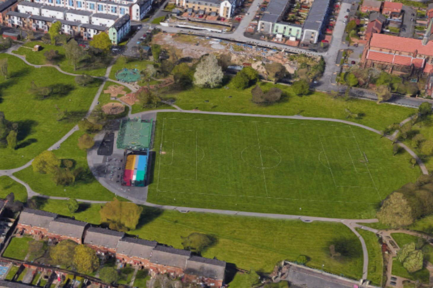 Ordsall Park 11 a side | Grass football pitch
